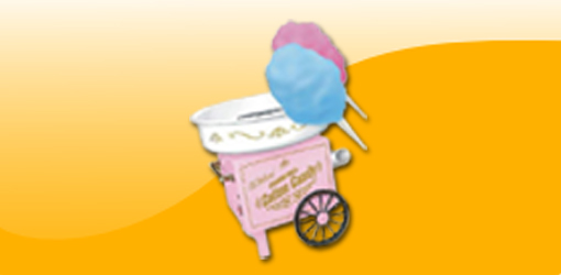cotton candy machine party rental