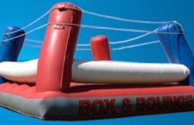 inflatable boxing ring rental