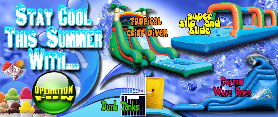 long island water slide rental