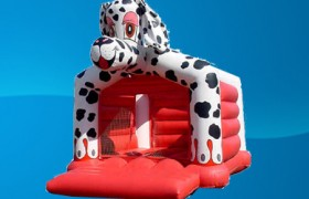 dalmatian moon bounce rental
