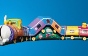 Inflatable Train Rental
