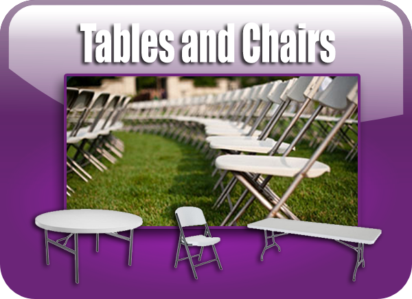 Tables and Chairs Rentals Long Island